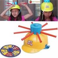 Cabeza mojada Sombrero Juego Desafío Agua Húmedo Chistes Y juguetes divertidos ruleta Juego Mordazas y Bromas Prácticas juguetes Para el Día de Los Inocentes