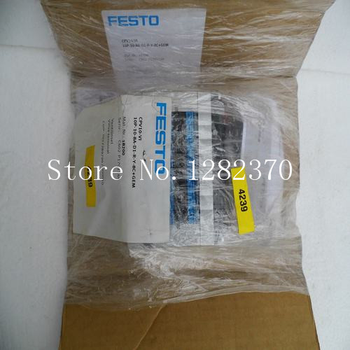 [SA] New special sales FESTO valve island CPV10-VI10P-10-8A-D1-RY-8C + GEM stock new in stock ve j62 iy vi j62 iy
