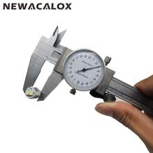 Buy online Shock-proof Stainless Steel Precision Vernier Caliper Metric Micrometer Gauge Measuring Tool Dial Caliper 0-150mm/0.02mm