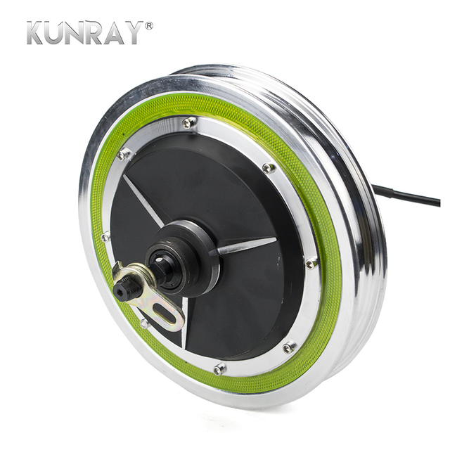 """12""""Wheel Electric Brushless Non-Gear Hub Motor For 12inch Raear Front Wheel Engine Electric Scooter Bicycle Ebike E-car Kit Part"""