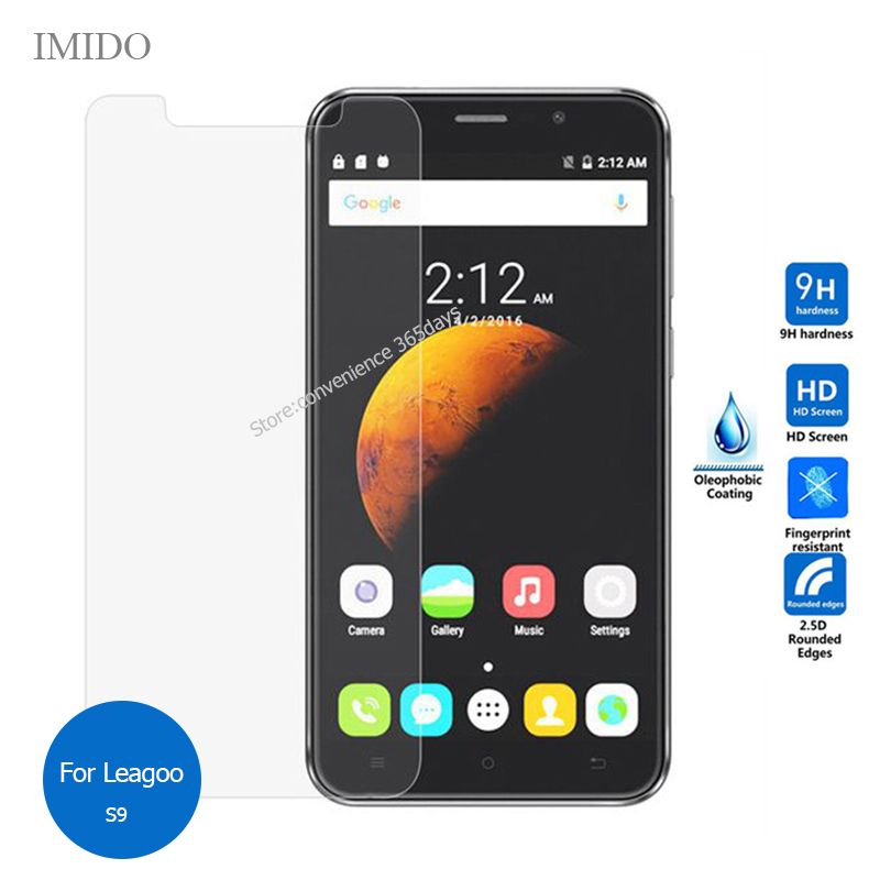 For Leagoo S9 Tempered Glass Screen Protector 2.5 9h Safety Protective Film on S 9