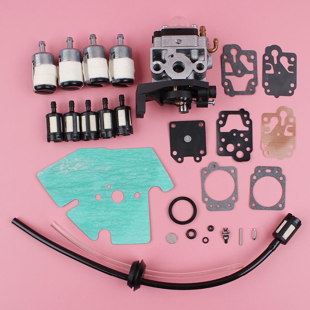 small resolution of carburetor fuel filter line repair kit for honda gx25 gx25n gx25nt fg110 fg110k1 hht25s lawn mower engine motor part aliexpress com imall com