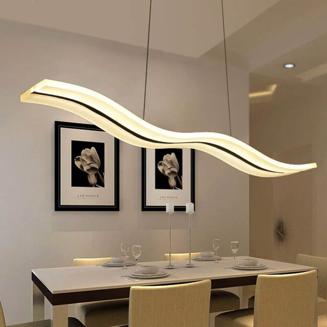 online shop modern led chandelier dining room living room acrylic rh m aliexpress com Dining Room Chandeliers Ideas dining room led chandelier light