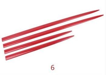 RQXR カーアクセサリー車体ドアプレートストリップ保護三菱アウトランダースポーツ Rvr ASX 2010-2012