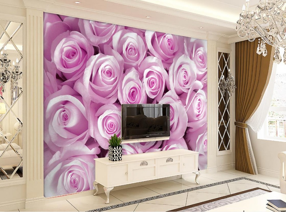 3d stereoscopic wallpaper Fantasy rose flowers wall mural photo wallpaper mural 3d paintings Home Decoration brooklyn black and white wallpaper mural photo wallpaper 3d mural large wall painting mural backdrop stereoscopic wallpaper