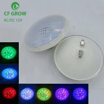 IP68 LED Underwater Lights 24W 36W 48W 60W72W LED Fountain Pond Light DC 12V Outdoor SpotLight PAR56 RGB LED Swimming Pool Light