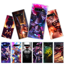 League of Legends KDA Phone Cases For Samsung Galaxy S9 S8 A6 A8 J4 J6 + Plus A7 A9 J8 2018 Note 9 8 S7 S6 Edge Cover
