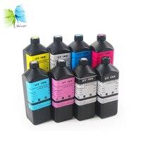 Winnerjet 1000ml Soft UV ink For Epson 1400 L800 1390 R1800 R2000 printer 7 color