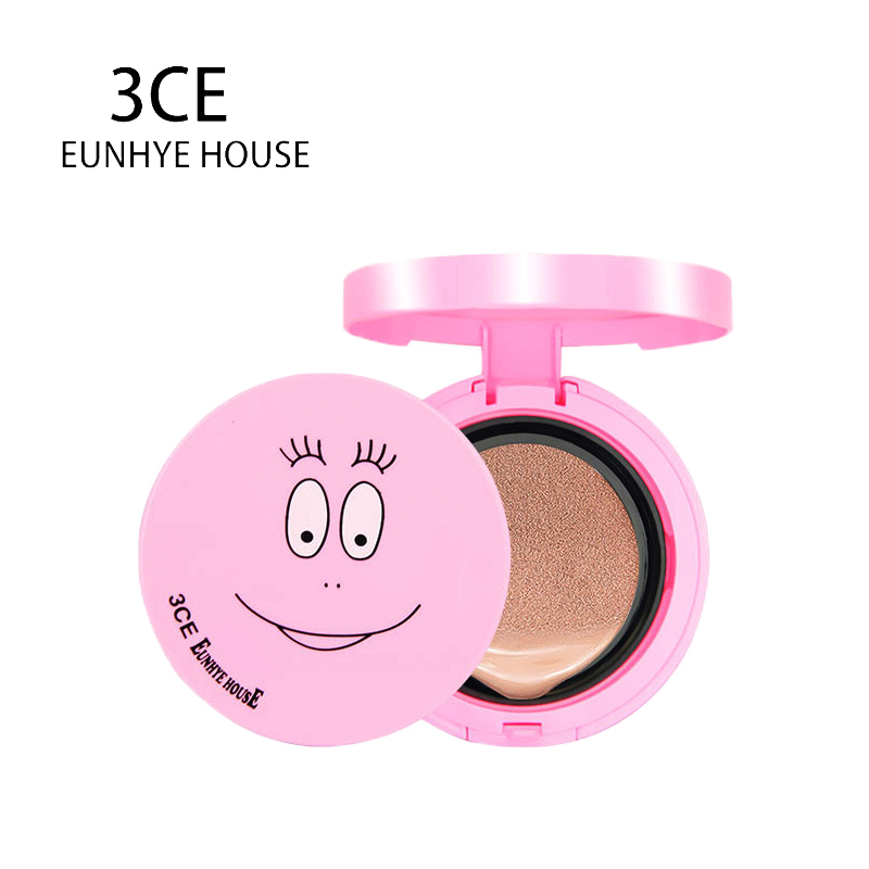 3CE Eunhye House Brand Face Makeup Moisturzing Whitening Air Cushion BB Cream Lasting SPF50 Cream Cosmetics With Puff