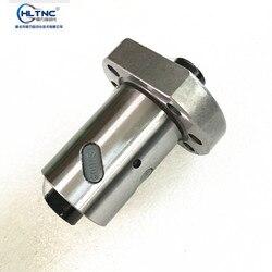 Fabryka bezpośrednio sprzedaż tanie 1 sztuk SFU1605 z orzecha włoskiego 16 mm śruby kulowej pojedyncze nakrętki mecz wykorzystanie 1605 4 nakrętka CNC DIY części maszyn do rzeźbienia w Prowadnice liniowe od Majsterkowanie na