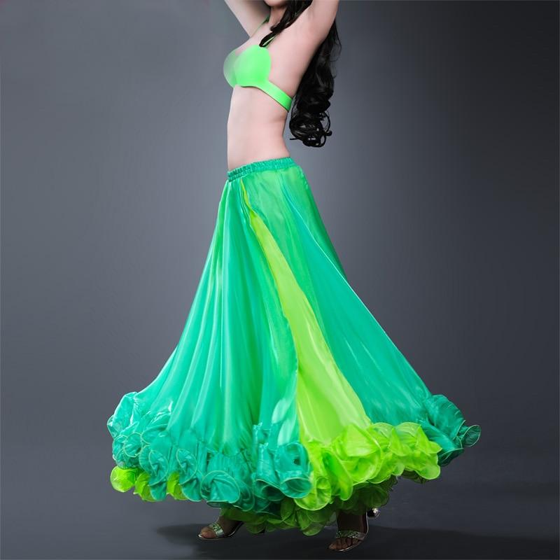 Noviteti i pos. namene ... Plesna odeća ... 32783973345 ... 4 ... 2018 2018 Professional Belly Dance Costume Waves Skirt Dress with S Push Carnival Bollywood ...