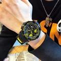Мужские спортивные часы MEGIR  с большим циферблатом  армейские кварцевые часы