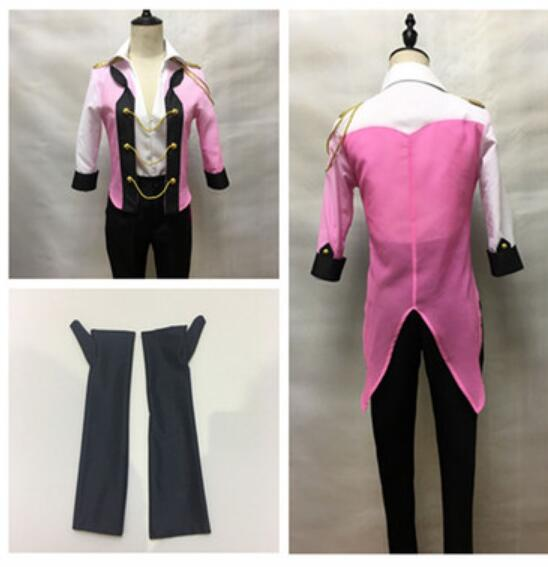 YURI!!! on ICE Victor Nikiforov Cosplay Costume YURI on ICE Uniform Suit Outfit Clothes Shirt & Coat & Pants & Gloves