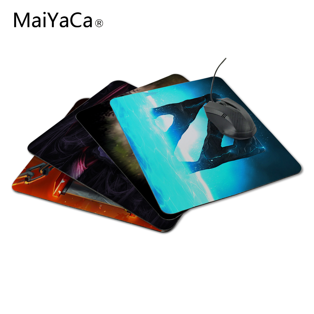 MaiYaCa New Arrival Blue Style Dota2 Logo Durable Game Gaming PC Anti-slip Mouse Mat for Optical/Trackball Mouse Drop Shipping