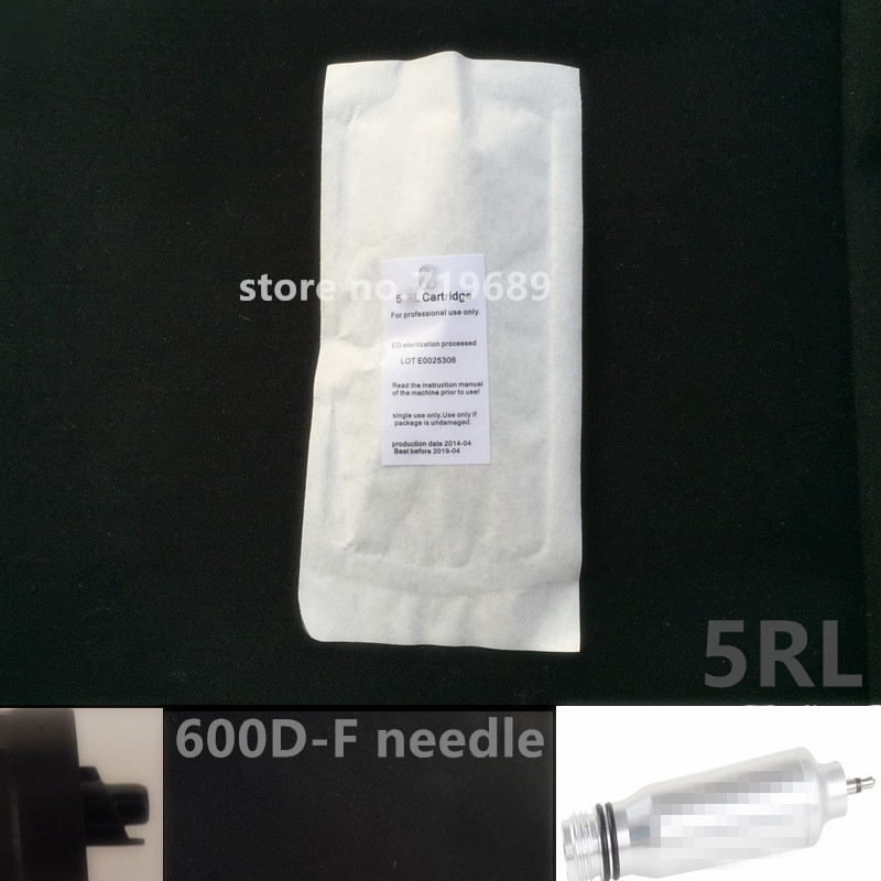 600D F 5RL Permanent makeup machine needle stainless steel Tattoo Needles for Rotary Electric Permanent Makeup