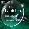 1.591 индекс Поликарбоната PC оптических линз спорт линзы без оправы линзы анти уф анти излучения близорукость астигматизм пресбиопии