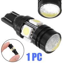 T10 W5W 196 168 LED 4SMD 5050 LED 12V 20W Interior Dome License Plate Light Car Width Light Bulb Lens Bulb pa led 10pcs x g14 t10 led light bulb 6 3v white color 4smd 3528 pinball machine led light