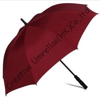 Straight car golf umbrellas.fiberglass shaft and ribs,auto open,windproof,pongee fabric golf,anti satic,anti electricity