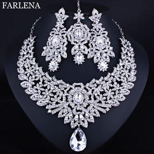 FARLENA Wedding Jewelry Clear