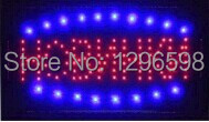 2017 hot sale custom 10x19 Inch Semi-outdoor Ultra Bright running hobnhkn sign of led