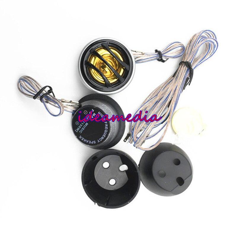 150 Watt 4 Ohm 25mm Auto Mini Dome Hochtöner Lautsprecher Lautsprecher Super Power Audio Auto Sound Attraktives Aussehen