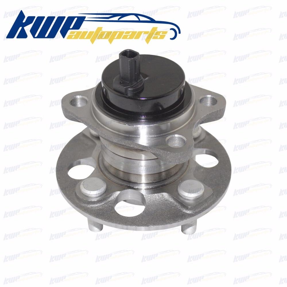 Rear Wheel Bearing Hub Replacement 512370 B2k For 06-14 Toyota Yaris 12-15 Prius C free shipping 1pcs dac3063w 30x63x42 dac30630042 dac3063w 1 9036930044 574790 hub rear wheel bearing auto bearing for toyota