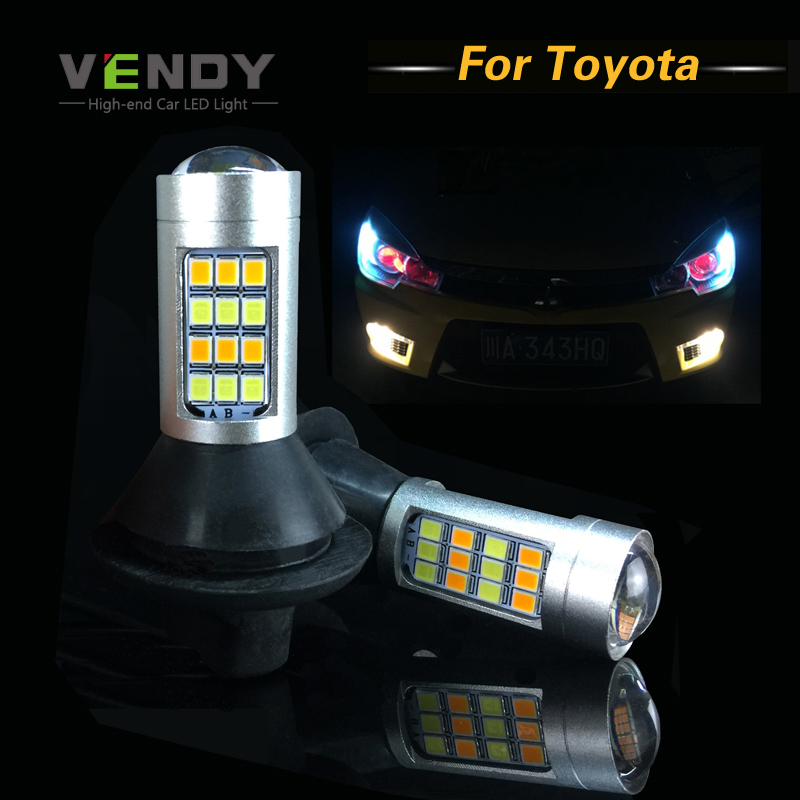 1set 7440 Wy21w Car Led Lamp Bulbs Canbus Auto Turn Light