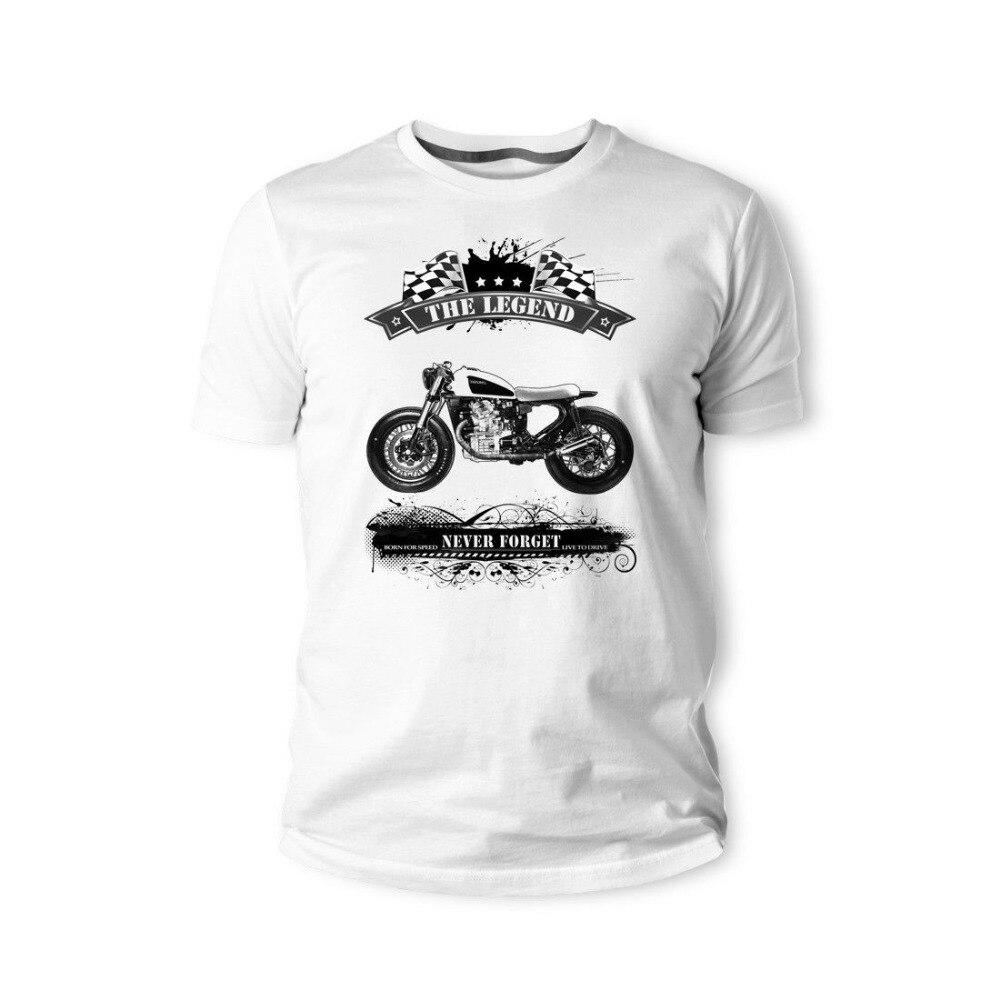 2018 fashion hot sale Japanese Classic Motorcycle Motorrad CB400 Gold Wing F6B NC700X CB1000R Youngtimer Oldtimer Herren T shirt