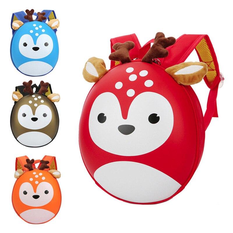 Для девочек и мальчиков детские дети олень узор Животные малышей сумка мультфильм плеча