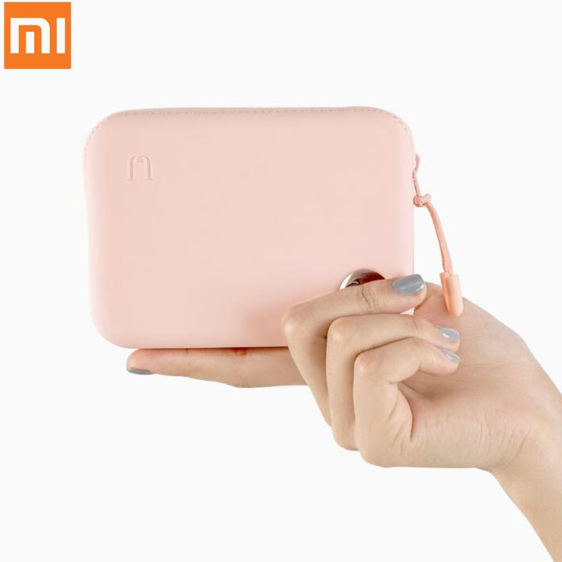 Xiaomi Youpin Jordan Portable Silicone Soft Case Waterproof Change Bag Storage Bag for Cable Charger Keys Lips Earphones image