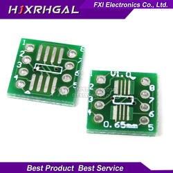 20 шт. TSSOP8 SSOP8 Для DIP8 плата передачи DIP Pin доска шаг адаптер igmoprrq