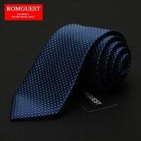 2016 Nuova Offerta Speciale Adulto Cravatte Moda uomo Vestito di Affari Tie 7 cm Wide Wedding Sposo Stile Britannico Regalo Dot cravatta