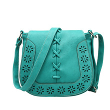 New 2016 Retro Hollow Out Cross Body Shoulder Bag Hollow Out Lady Vintage Bag Fashion Women  Handbags F411