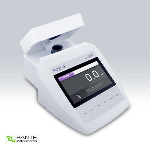 Genuine Marca BANTE Standard Da Banco Turbidimeter torbidità TSS tester del tester analyzer USB DATI