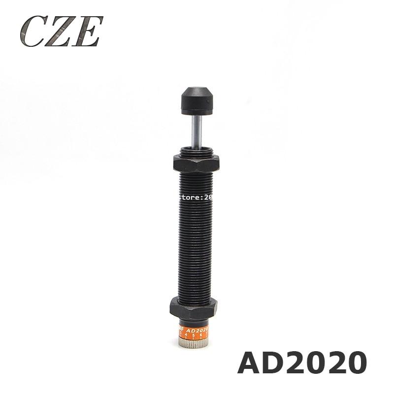 все цены на Pneumatic Hydraulic Shock Absorber Adjustable Hydraulic Buffer AD2020 (FC) TYPE онлайн