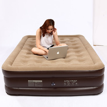 LYY-35-3 Inflatable Mat 200*145*50CM Double Person Use Thickening Camping Mat Leisure Office Air Bed Outdoor Air Mattress intex 68765 152 203 22cm luxury dark blue flocking stripes 2 3 people thickening air mattress air bed beach inflatable mat