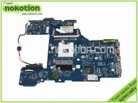NOKOTION LA 7212P Laptop motherboard For Toshiba Satellite P770 mainboard K000128610 PHRAA Rev 1.0 intel HM65 DDR3