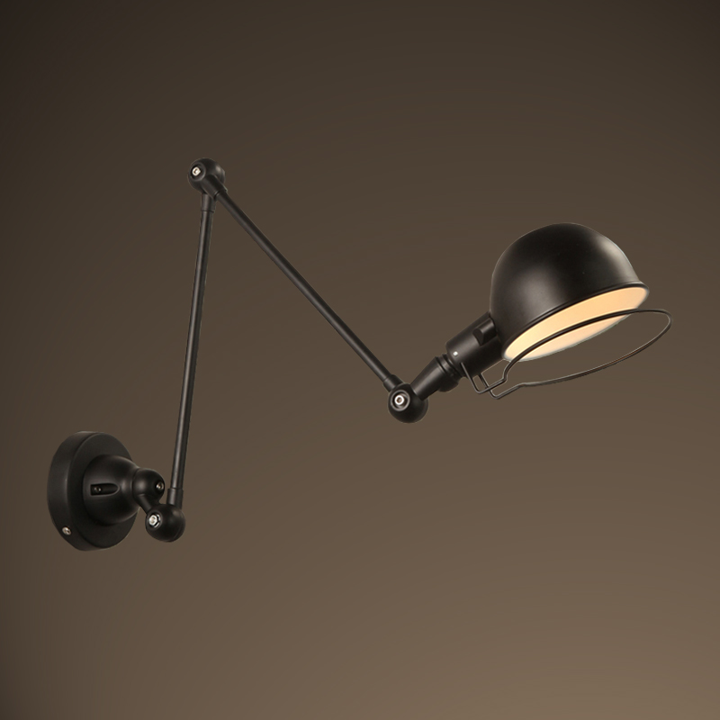 Ecolight Modern Wall Lamp 1 Light E12 E14 Sockets Black or White Painting Swivel Arms Task Reading Wall Light for Study Bed Room modern lamp trophy wall lamp wall lamp bed lighting bedside wall lamp