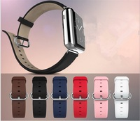 Genuine Leather Calfskin Strap For Apple Watch Band 42mm Iwatch Belt 38mm Men Women Bracelet With