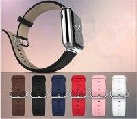Genuine Leather Calfskin Strap For Apple Watch Band 42mm Iwatch Belt 38mm Men Women Bracelet With