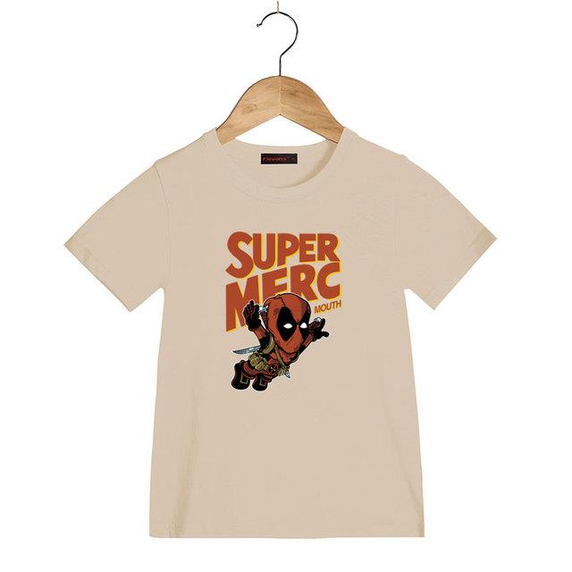 Deadpool Super-Héros Drôle Enfants T-Shirts D'été Tops T-shirts Garçons/Filles Vêtements À Manches Courtes Enfants T Chemises