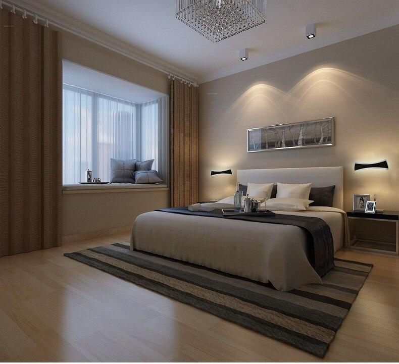 Moderno led specchio luci 40 cm 120 cm lampada da parete for Parete testiera letto