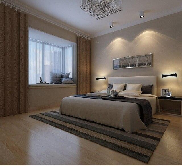 US $45.38 26% di SCONTO Moderno LED Specchio Luci 40 cm ~ 120 cm lampada da  parete del Bagno camera da letto testiera wall sconce lampe deco Anti ...