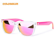 COLOSSEIN Summer Sunglasses Women Cute Pink Holiday Necessary Protection Eyewear Gorgeous Plastic Adult Glasses New Trendy