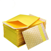 10Pcs 11*13+4cm Courier Bags Waterproof Packaging Bubble Mailers Padded Envelopes Bag Kraft Bubble Mailing Envelope Bags