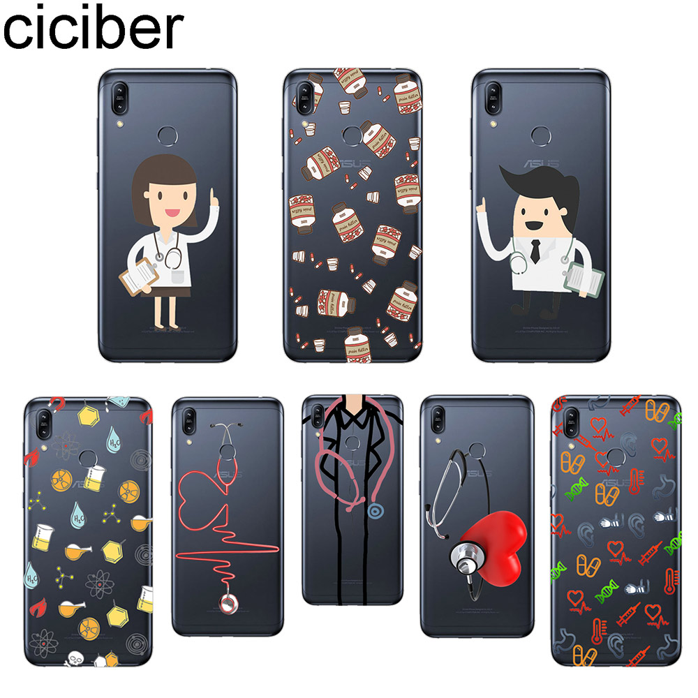 Dedicated Ciciber Phone Case For Asus Zenfone Max Pro M1 Zb601kl Zb602kl Cover For Zenfone Max Pro M2 Zb631kl Zb633kl Soft Tpu Doctor Capa Famous For Selected Materials Delightful Colors And Exquisite Workmanship Novel Designs