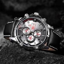 цена 1002 New men's watch sport three eyes six needle multi-function waterproof calendar watch customization Quartz men's wristwatch онлайн в 2017 году