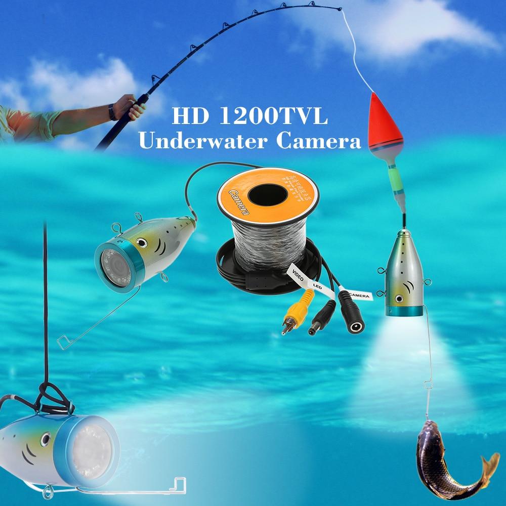 Aliexpress.com : Buy 30M Cable HD 1200TVL Underwater Fishing ...