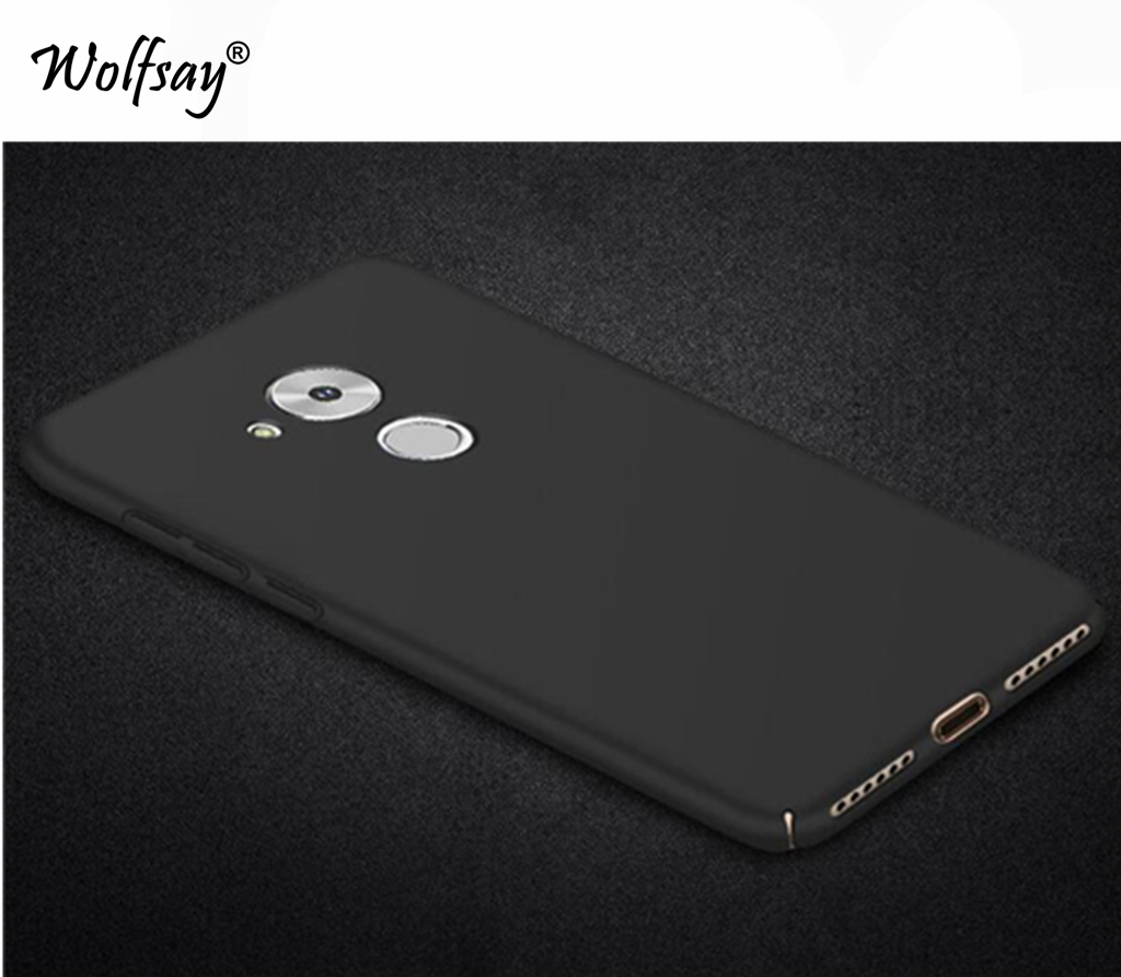 Wolfsay For Cover Huawei Honor 6C Case Ultra Thin PC Armor Hard Back Phone Case For Huawei Honor 6C Cover For Huawei <font><b>GR3</b></font> <font><b>2017</b></font> image