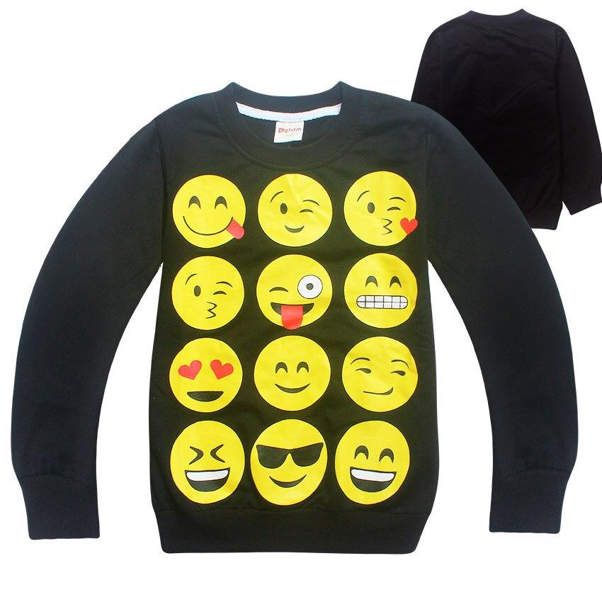 Z&Y 4-10Years Manteau Garcon 2017 Spring Autumn Spinner Emoji Shirt Boys Coat O-neck Blouson Fille Jaqueta De Couro Infantil 240